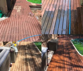 timber deck cleaning sealing & oiling