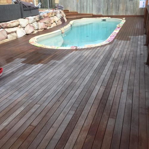 timber deck cleaning and sealing