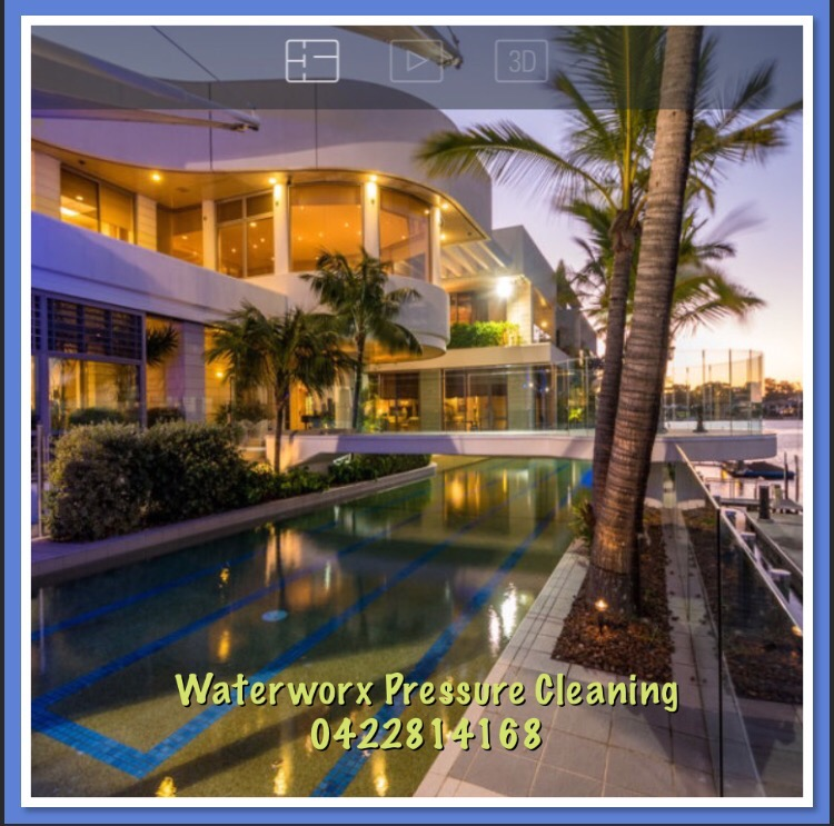 Exterior House Washing Gold Coast Waterworx Pressure Cleaning