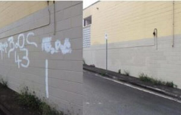 Pressure Cleaning Graffitti