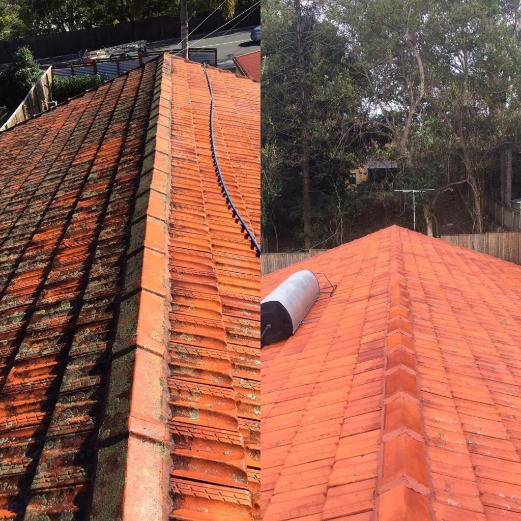 Roof Cleaning Examples Waterworx Pressure Cleaning