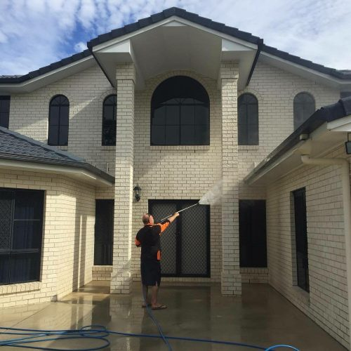 House Washing Brisbane Exterior Soft House Wash Cleaning Experts