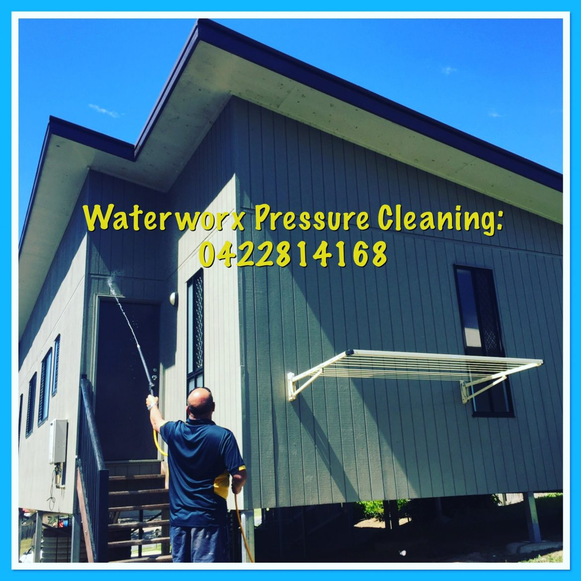 Exterior house cleaning brisbane brisbane west gold coast ipswich logan waterworx pressure - Exterior home cleaning ...