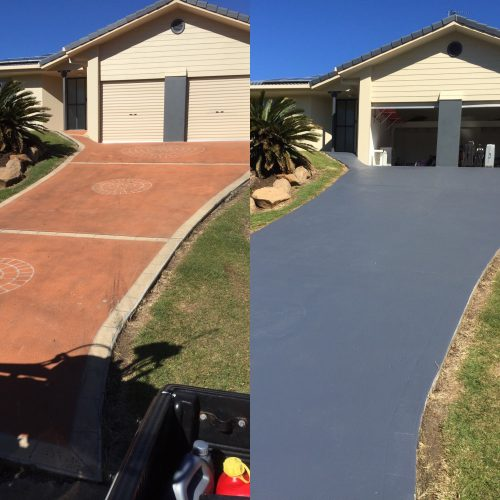 driveway painting Ipswich