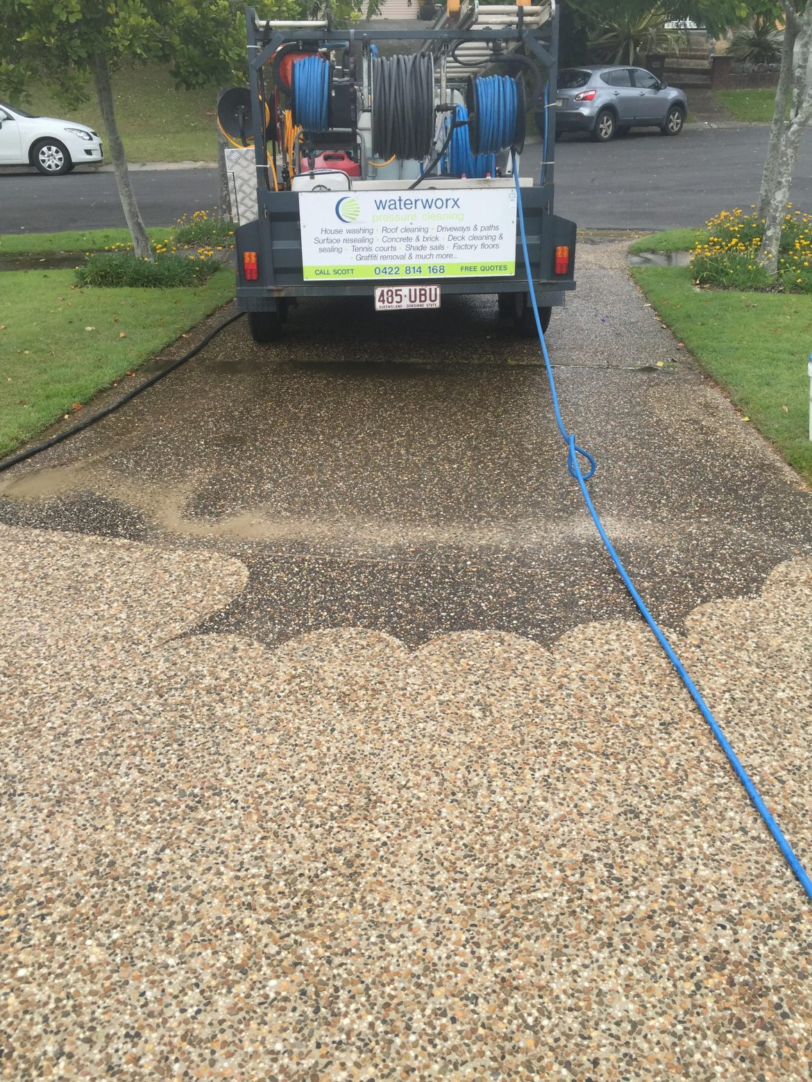 Pressure Cleaning West Brisbane Waterworx Pressure Cleaning