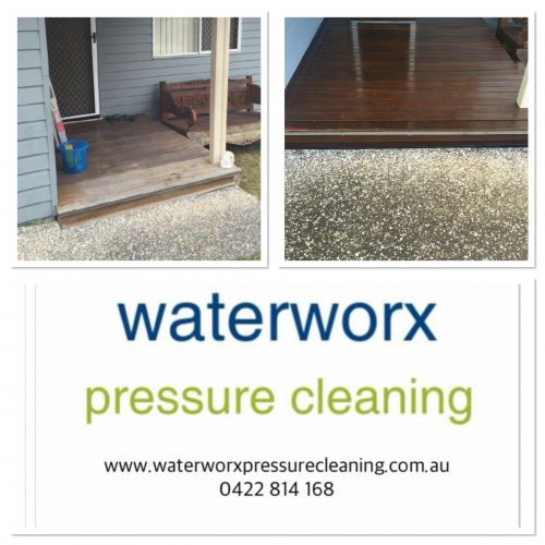 timber deck cleaning Gold Coast