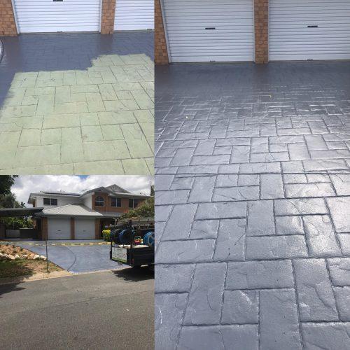 Driveway Painting Brisbane - Waterworx Pressure Cleaning