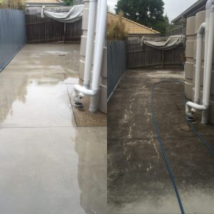 concrete cleaning Gold Coast