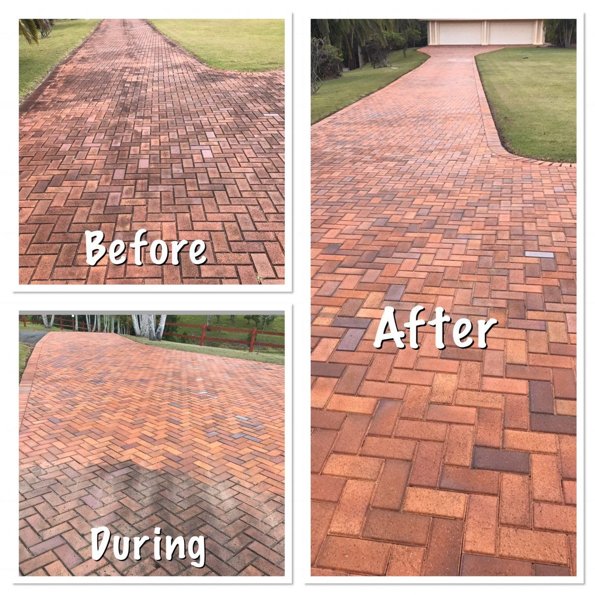 Brick And Paver Cleaning Portfolio Waterworx Pressure