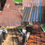 Timber Deck Pressure Cleaning Oiling